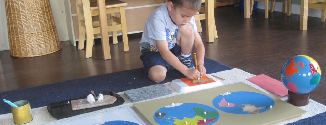Montessori Preschool, ages 3-6