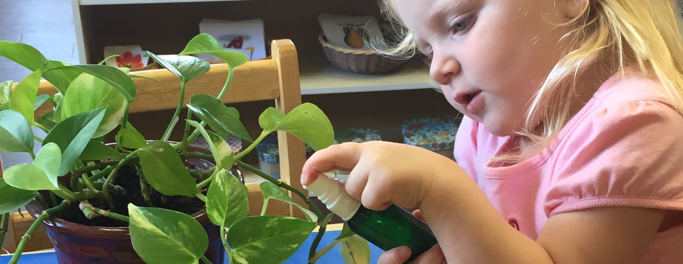 Montessori Preschool for Toddlers 18 months - 3 years